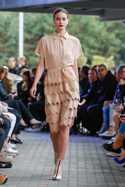 Módní kolekce značky IMRECZEOVA na Mercedes-Benz Prague Fashion Weeku