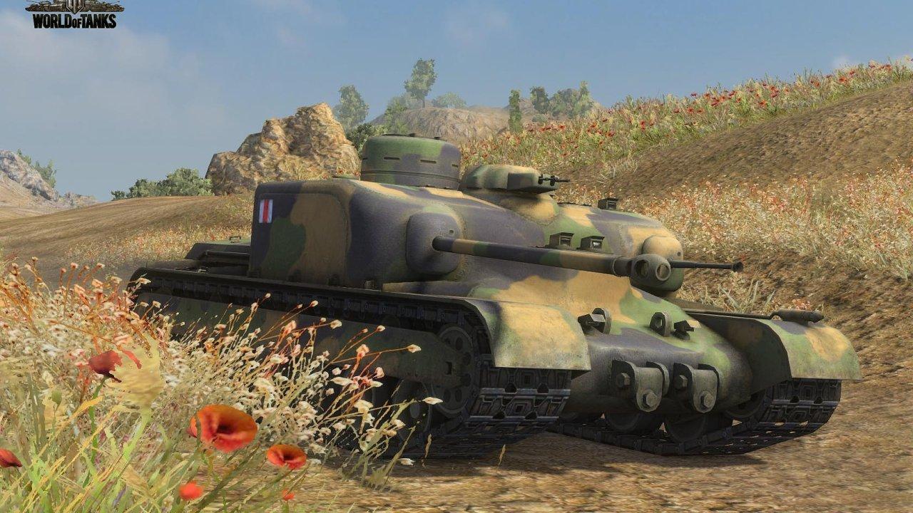 Ilustrační obrázek ze hry World of Tanks.