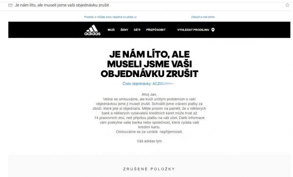 Adidas - e-shop