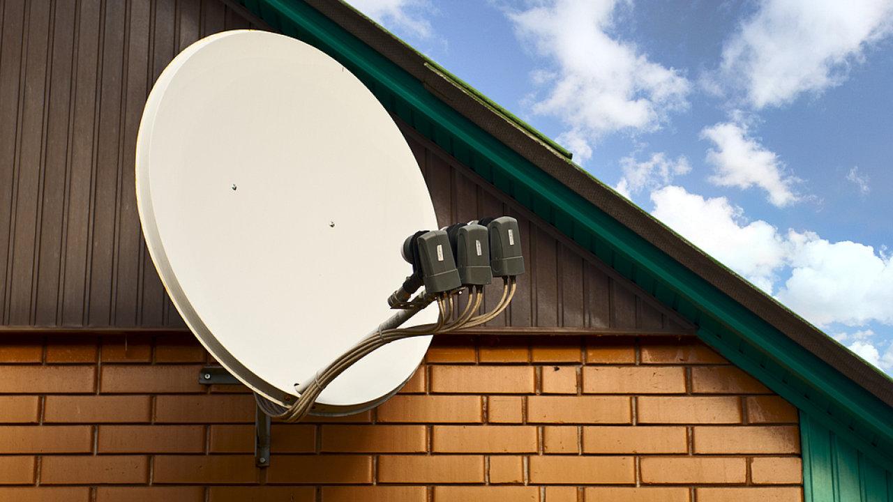 M7 Group provozuje v Česku a na Slovensku satelitní platformu Skylink - Ilustrační foto.