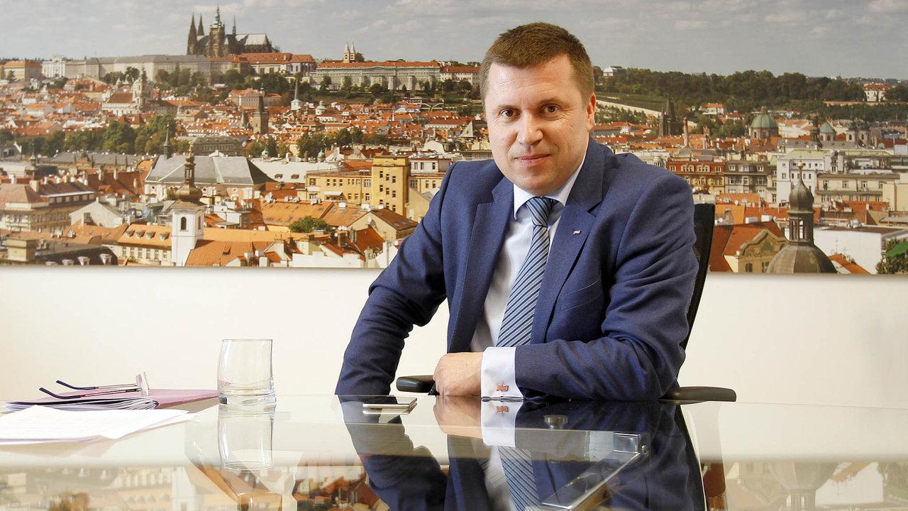 Karel Bureš, předseda představenstva ČEB.