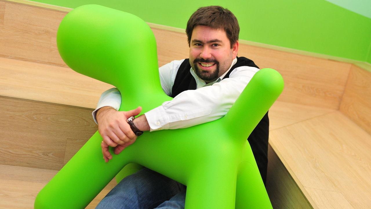 Jakub Petřina, marketingový ředitel Air Bank