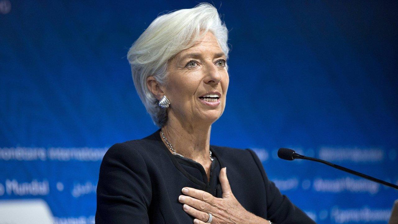 současná šéfka Mezinárodního měnového fondu Christine Lagardeová