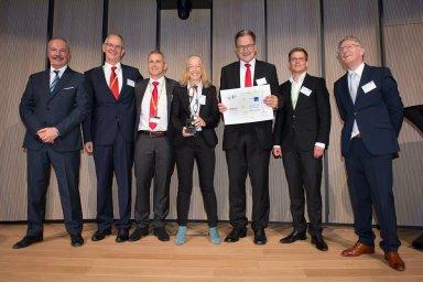 Zástupci firmy Robert Bosch si přijeli do Bruselu pro výhru v soutěži o nejlepší logistický projekt Evropy