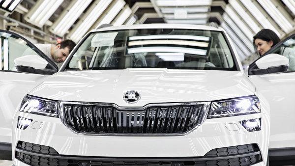 Škoda pokračuje v rychlém růstu, v červenci prodala skoro 100 tisíc vozů. Odbyt rostl v Evropě, Číně, Rusku i Indii
