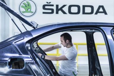Produkce největší automobilky Škoda stoupla o 3,3 procenta. - Ilustrační foto