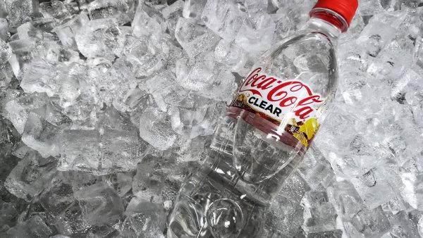 Bezbarvá Coca-Cola pro japonský trh.
