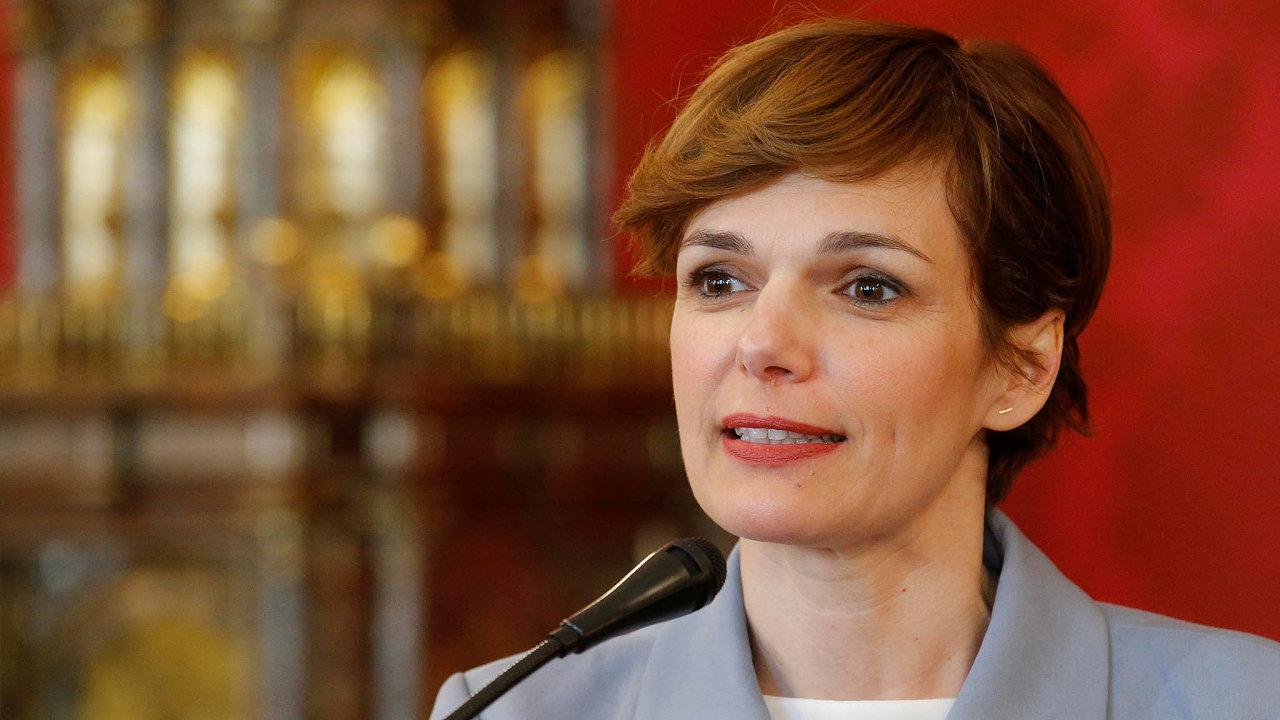 Nová síla. Dřívější vliv avoličskou podporu hodlá rakouským sociálním demokratům vrátit Pamela Rendi-Wagnerová.