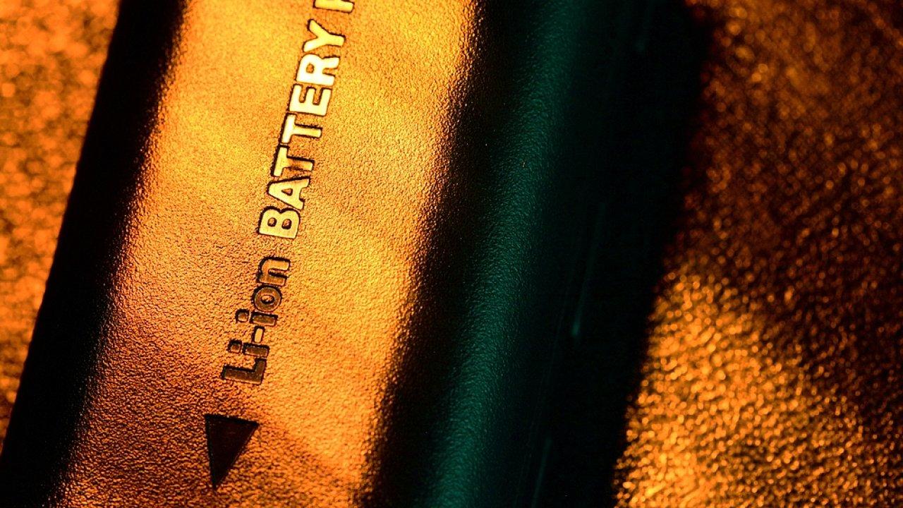 Lithium-iontová baterie (ilustr. foto)