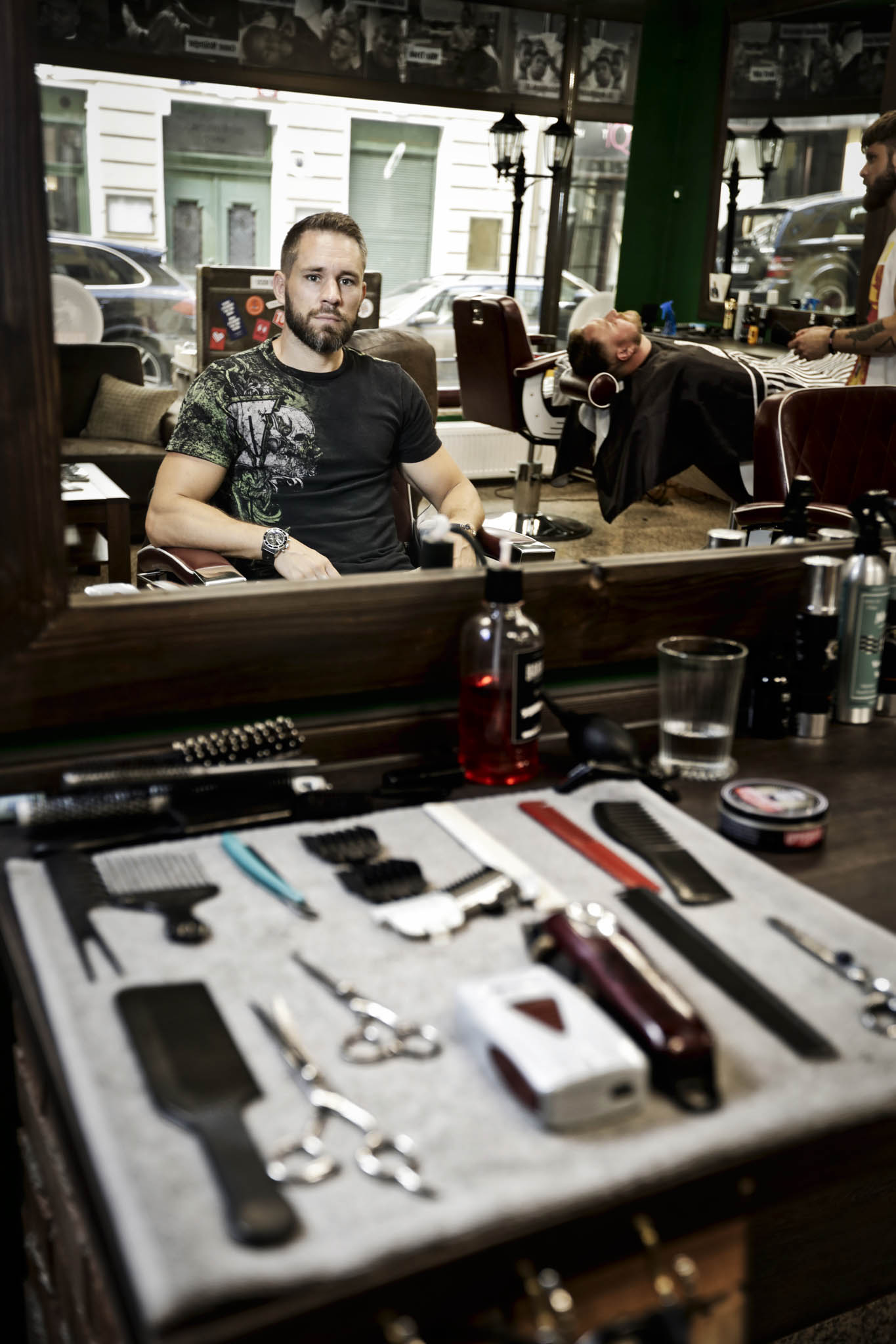 Miroslav Hradil, zakladatel barber shopu The Original Barber