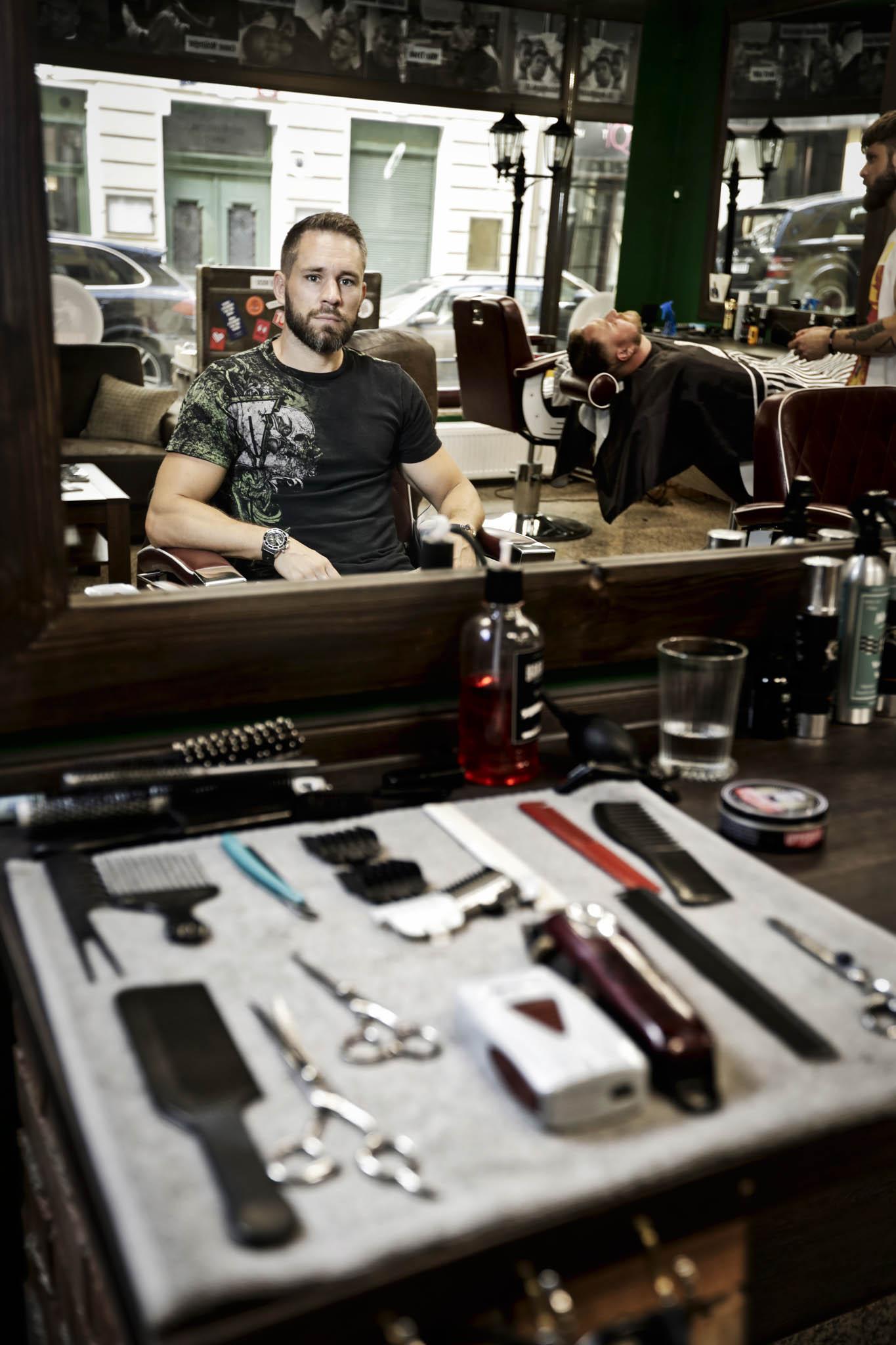 Miroslav Hradil, zakladatel barber shopu The Original Barber