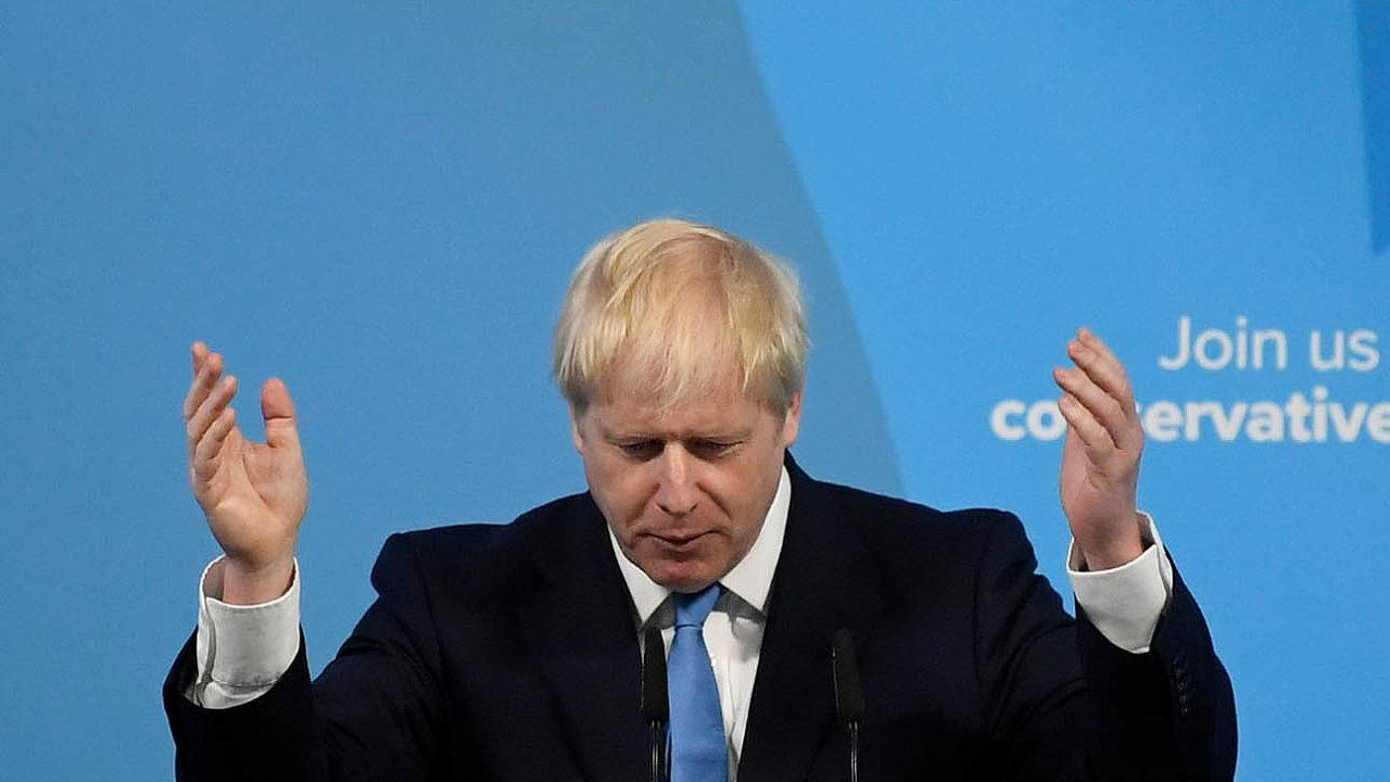 Boris Johnson se dnes stane novým předsedou britské vlády.