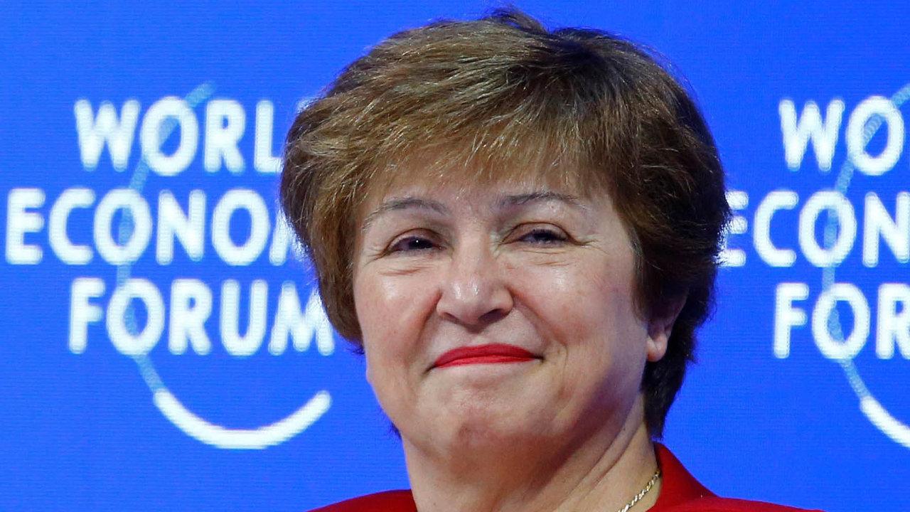 Kristalina Georgievová nastoupí do funkce výkonné ředitelky Mezinárodního měnového fondu v úterý 1. října.