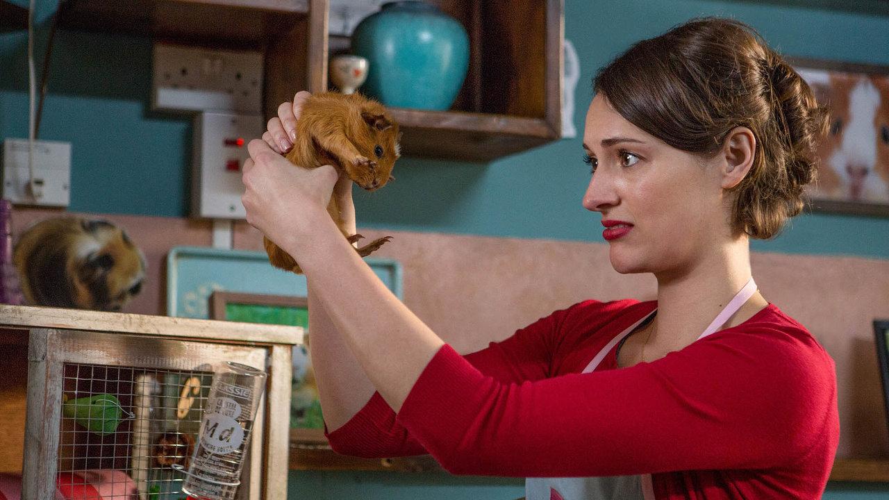 Phoebe Waller-Bridgeová začala jako autorka ahvězda seriálu Potvora (nasnímku).