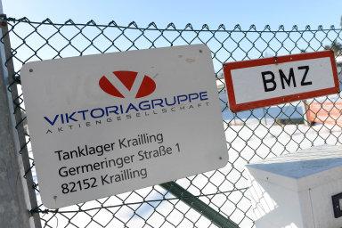Areál německé společnosti Viktoriagruppe.