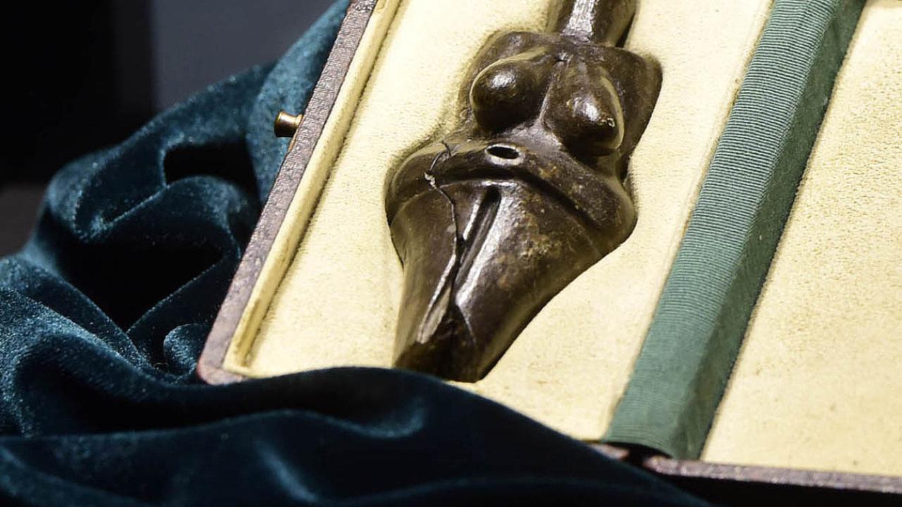 Ozapůjčení cenného artefaktu starého téměř 30 tisíc let jednalo muzeum tři roky.
