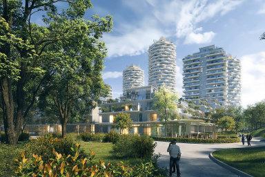 Kvůli pomalému povolování staveb se vPraze nedaří stavět byty. Developeři přitom mají připraveno až 109 tisíc bytů. Stovky jich chce naŽižkově postavit třeba Central Group vprojektu EvyJiřičné.
