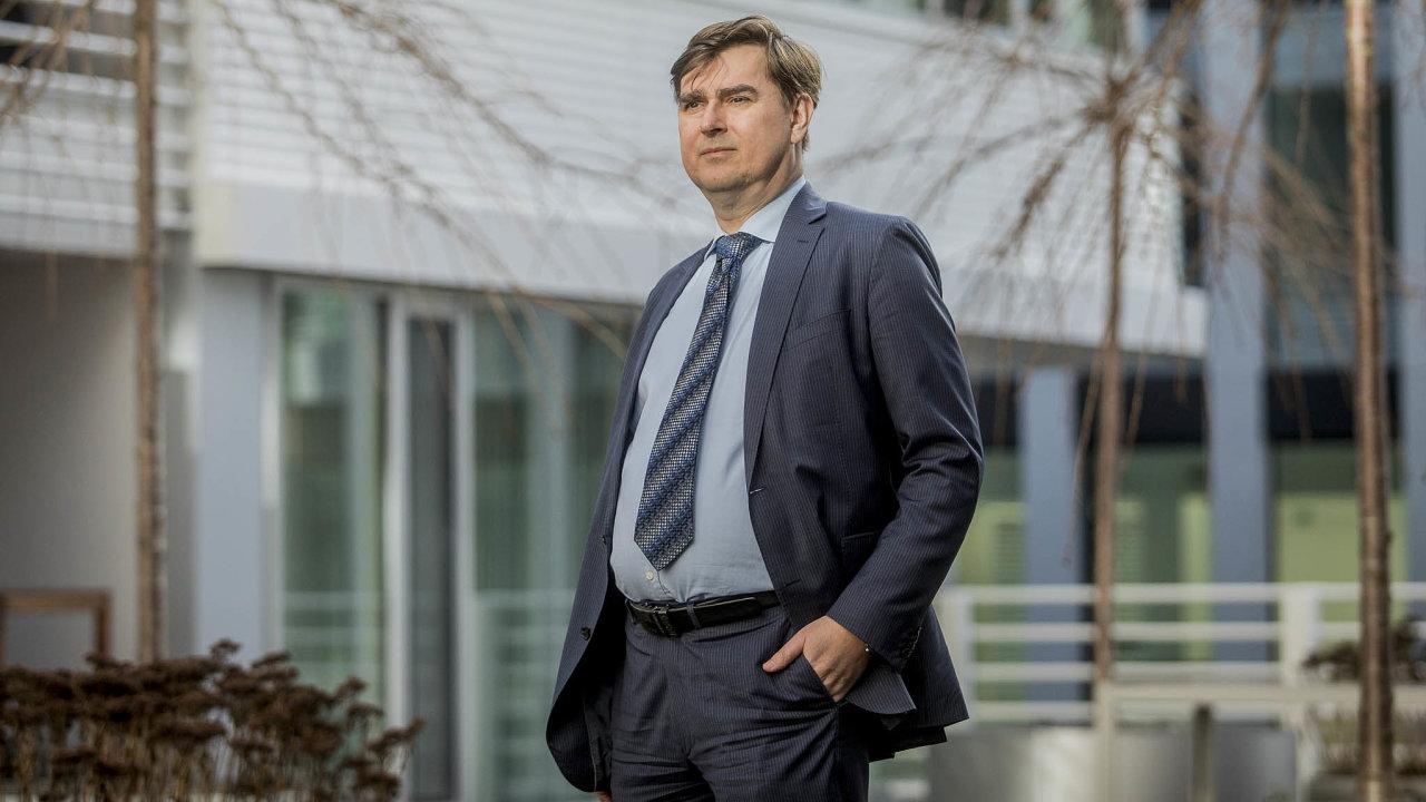 Nový šéf Expobank CZ Lubomír Lízal má před sebou náročnou misi.
