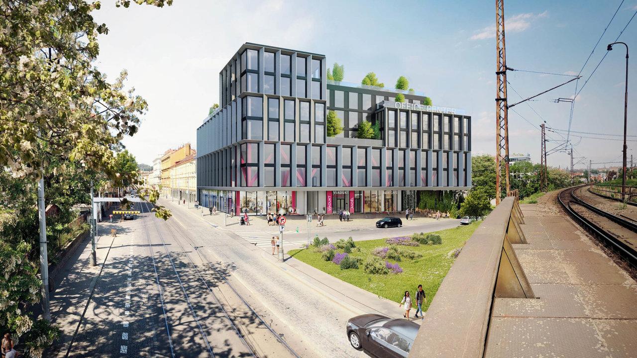 První kanceláře odJRD. Skupina JRD získala územní rozhodnutí pro projekt Viadukt Anděl. Půjde vůbec oprvní administrativní projekt společnosti, který vyroste napražském Smíchově.