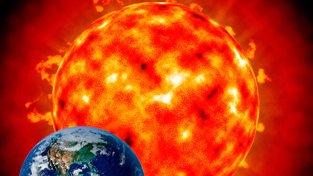 Erupce slunečníkoróny.