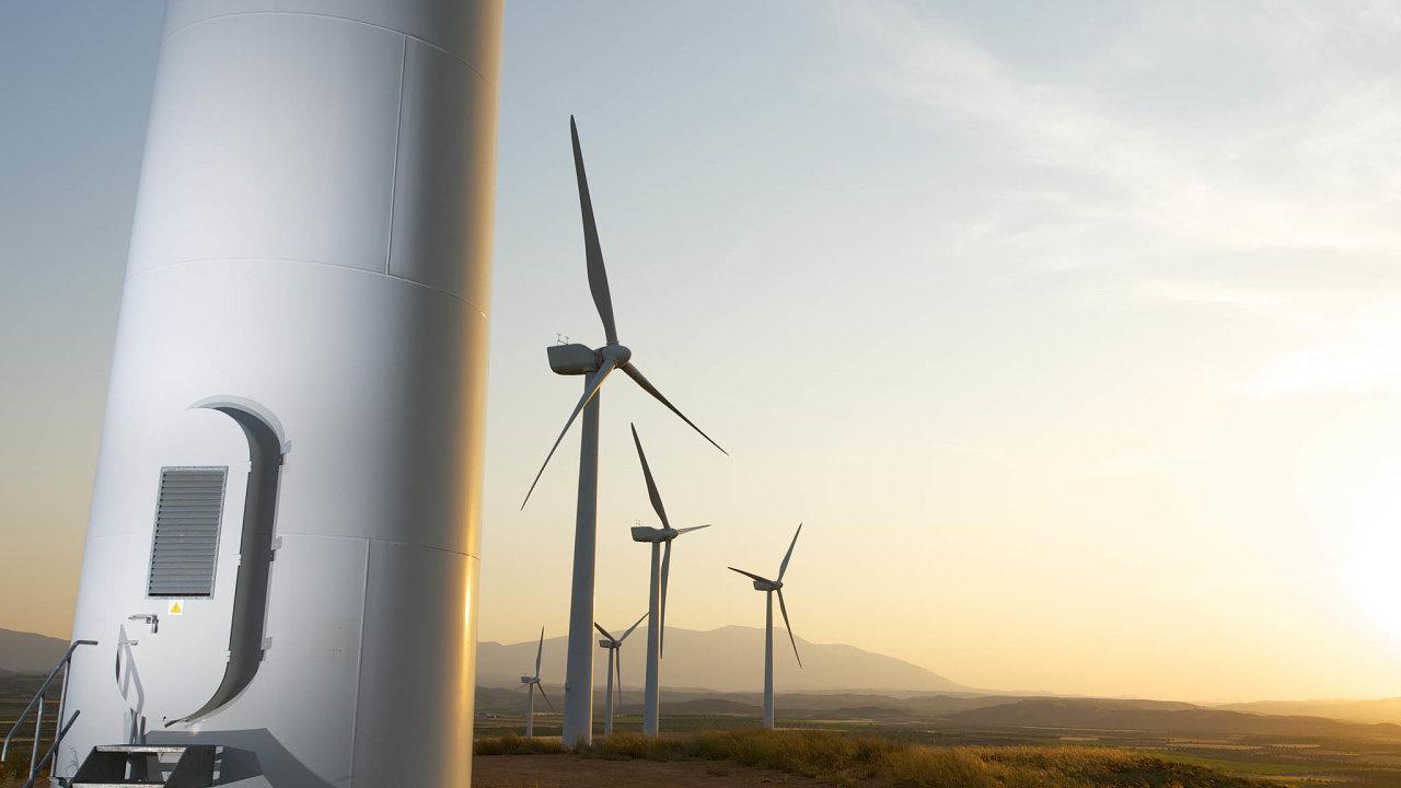 S firmou, kterou dnes žaluje, měl ČEZ v Německu stavět větrné elektrárny (ilustrační snímek).