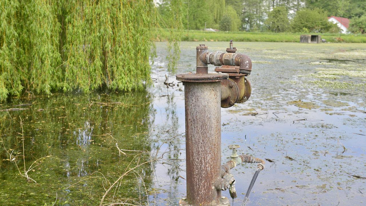 Sucho se drží.Ani červnové deště nedoplnily včeské přírodě stavy vody naúroveň minulých desetiletí.