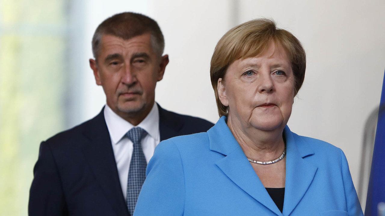 Co čeká Německo (aČesko). Spolková kancléřka Angela Merkelová vede Německo dopředsednictví EU, Andreje Babiše by to mělo čekat zadva roky.