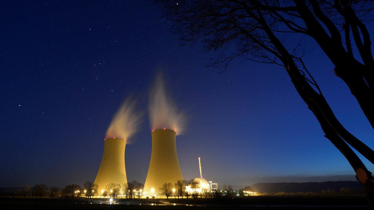 Zavíráme. Atomová elektrárna vněmeckém Grohnde je jednou zposledních fungujících. Svou činnost by měla ukončit příští rok.