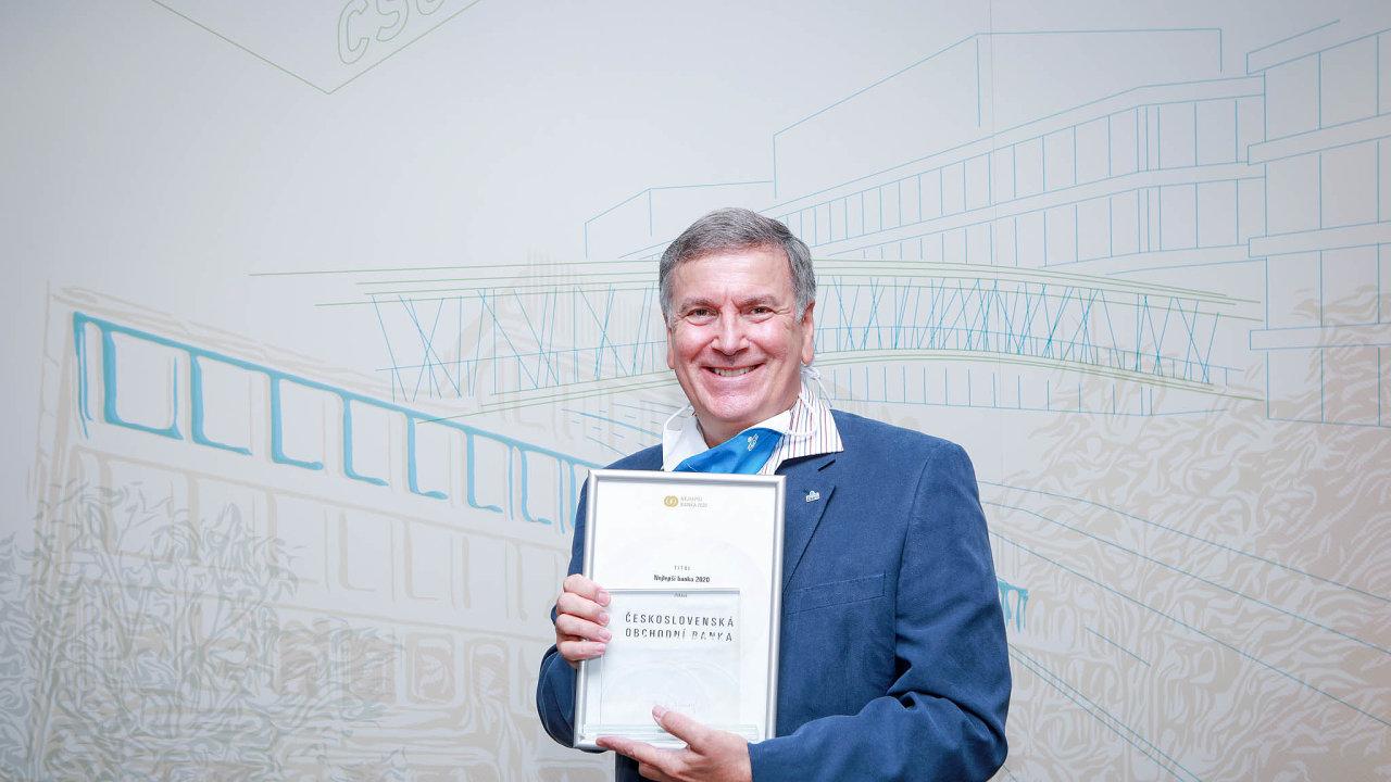 Double pro ČSOB. Absolutním vítězem 12. ročníku výzkumu Nejlepší banka aNejlepší pojišťovna se vbankovní kategorii stala ČSOB.