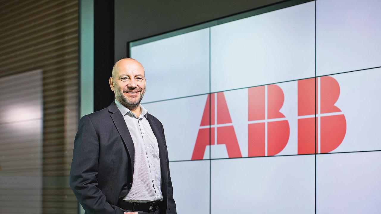 Ředitel ABB Elektrotechnika Vladimír Janypka