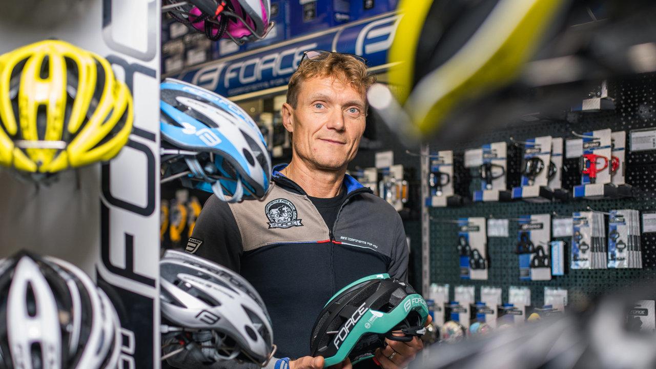 Dalibor Kmenta, jednatel společnosti KCK Cyklosport