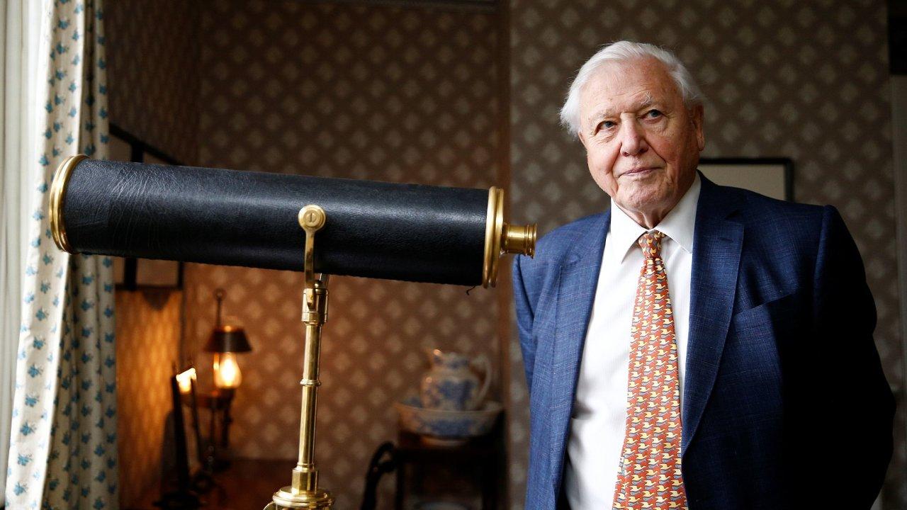 Britský přírodovědec David Attenborough bude své dokumentární filmy o přírodě nabízet i na moderních internetových televizích.