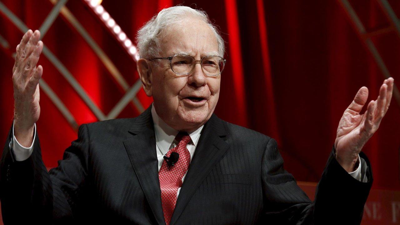 Americký miliardář Warren Buffett patří k nejslavnějším investorům světa, časopis Forbes ho pravidelně řadí mezi nejbohatší lidi planety