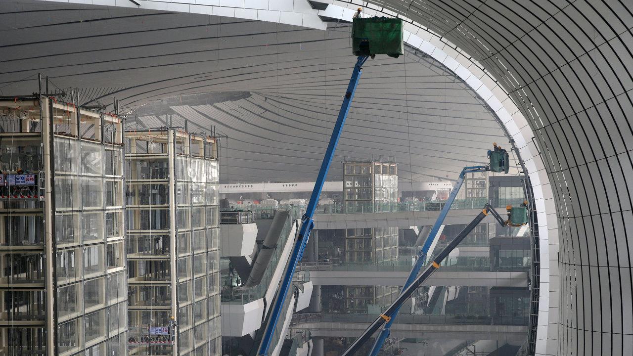 Letiště Ta-sing, Čína, Peking
