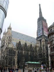 katedrála svatého Štěpána ve Vídni