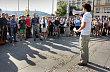 Protest proti odvol�n� ministra spravedlnosti Ji��ho Posp�ila