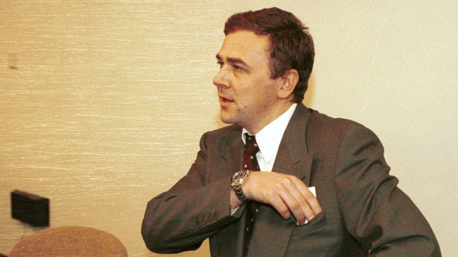 Pavel Tykač v roce 1997