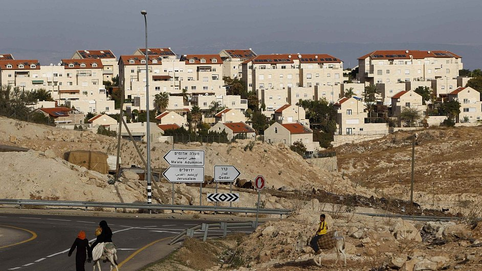 Židovská osada Maale Adumim nedaleko Jeruzaléma