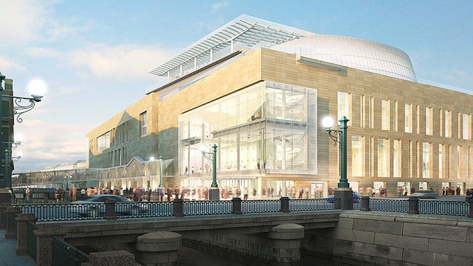 Architektonický návrh nové budovy Mariinského divadla