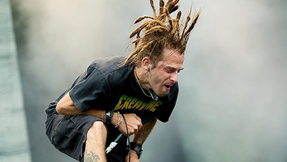 Zpěvák americké hudební skupiny Lamb of God- Randy Blythe.