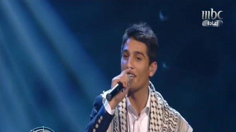 Mohammed Assaf v arabské pěvecké soutěži.