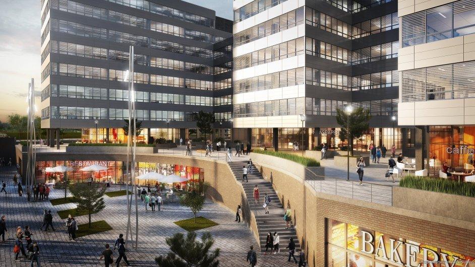 V Praze-Nových Butovicích se staví kancelářský komplex Metronom