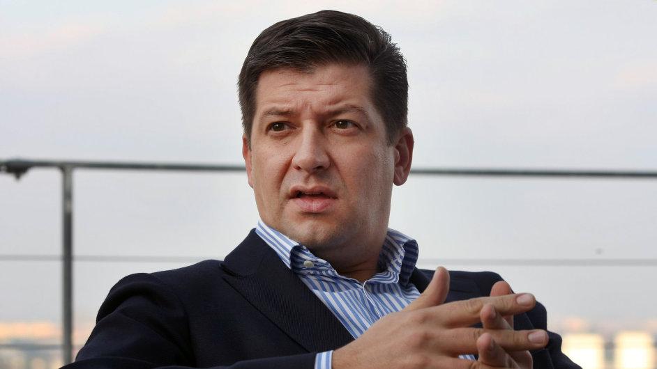 Bývalý generální ředitel TV Nova Jan Andruško.