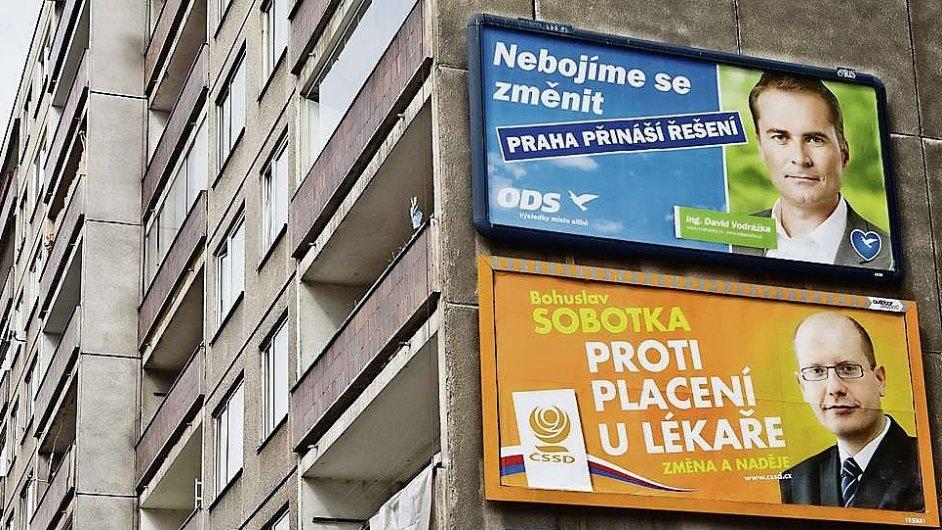 Předvolební billboardy,