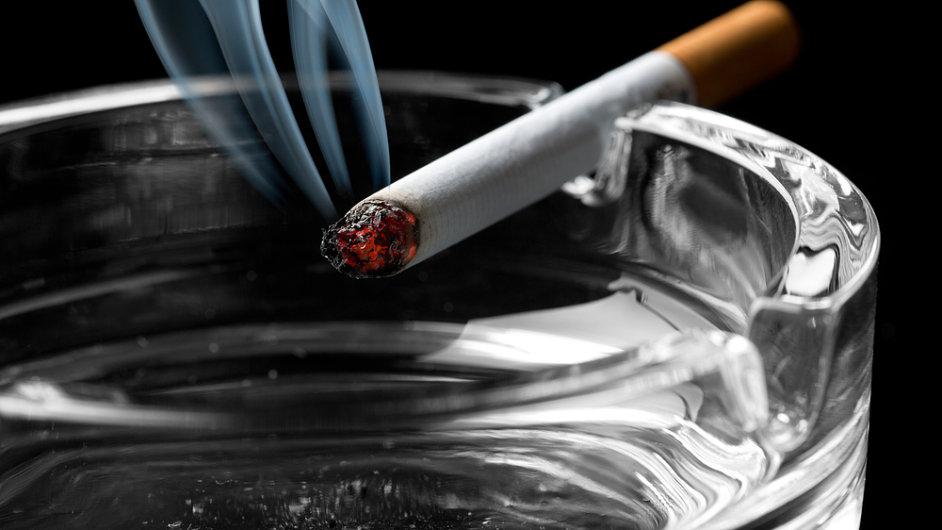 Cigaretový trh (Ilustrační foto)