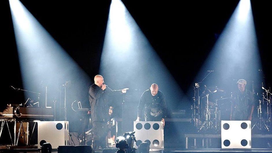 Oficiální snímek z prvního koncertu nynějšího turné Petera Gabriela v Dánsku