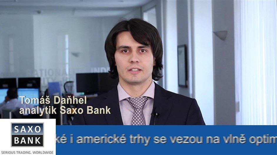 Analytik Saxo Bank Tomáš Daňhel
