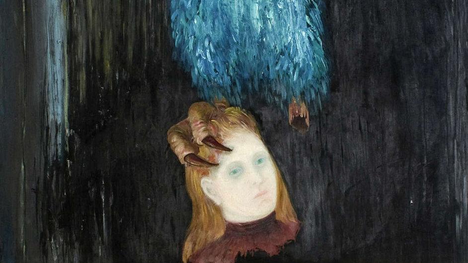 Zlatým hřebem aukce bude obraz Poselství lesa (1936) od Toyen.