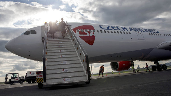 Airbusem A330 disponují i ČSA - Ilustrační foto.