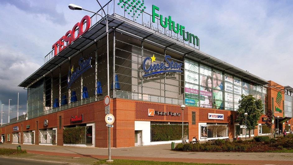 Nákupní centrum Futurum v Hradci Králové má nového vlastníka - firmu Meyer Bergman.